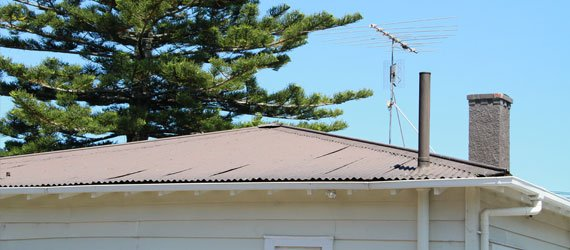 Roofing - New Corrugated Iron Roof