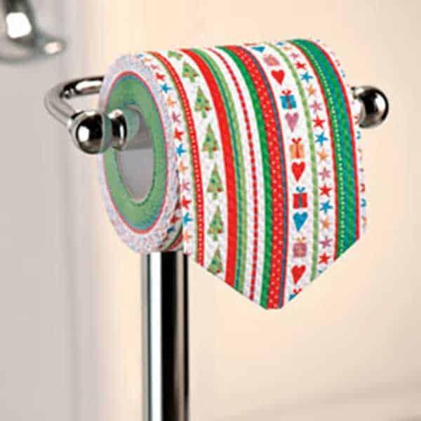 christmas toilet paper
