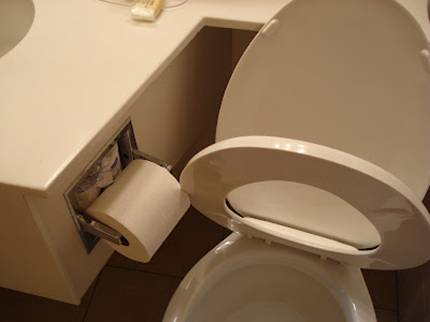 Plumber of the Year - Bog roll