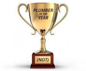 Plumber of the Year (Not) Awards – Heat 1
