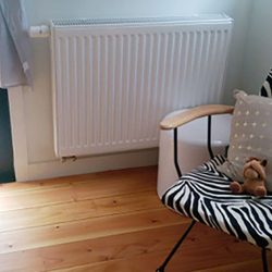 Install central heating… banish winter!