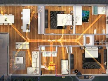 iHeat Floorplan
