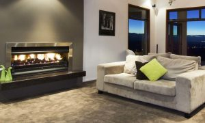 Warmington Open Fireplace