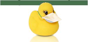 Covid Rubber Duck