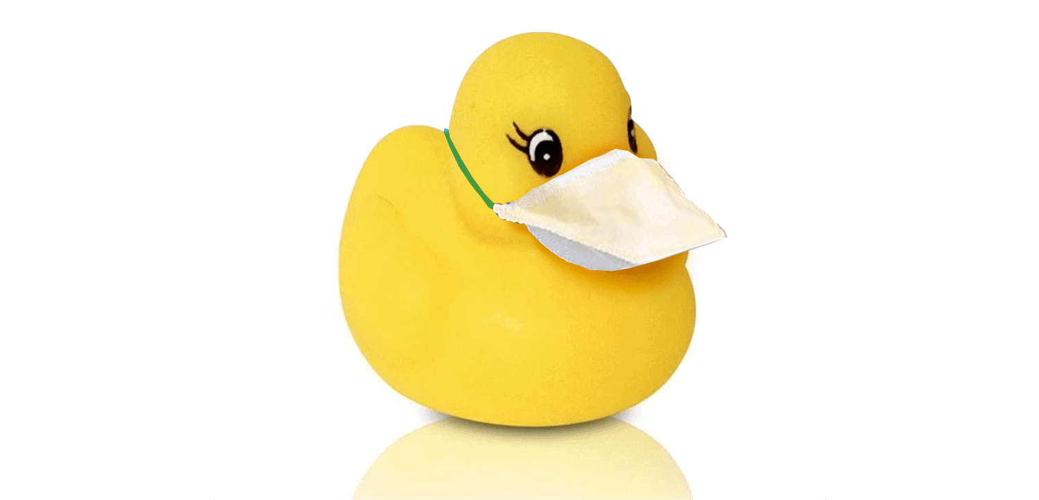 Covid Rubber Duck