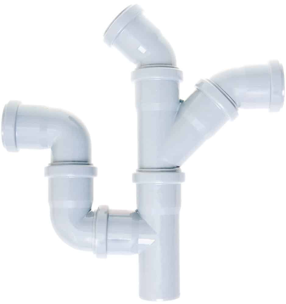 Connected PVC Pipes