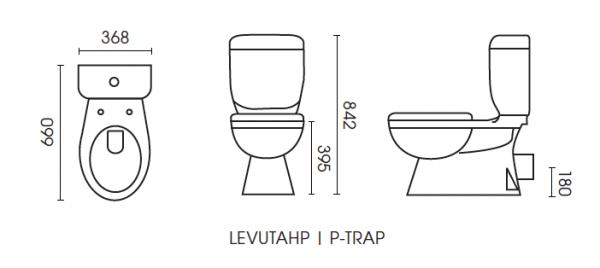 LeVivi Utah P-trap
