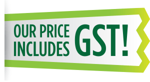 Our Price Includes GST
