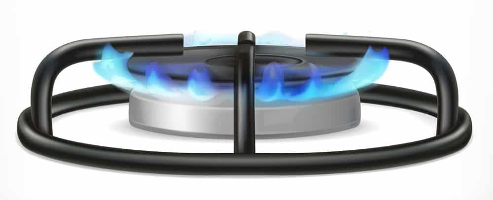 Gas hob ring