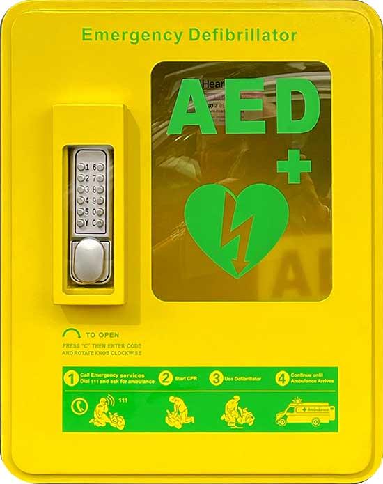 Defibrillator BOX