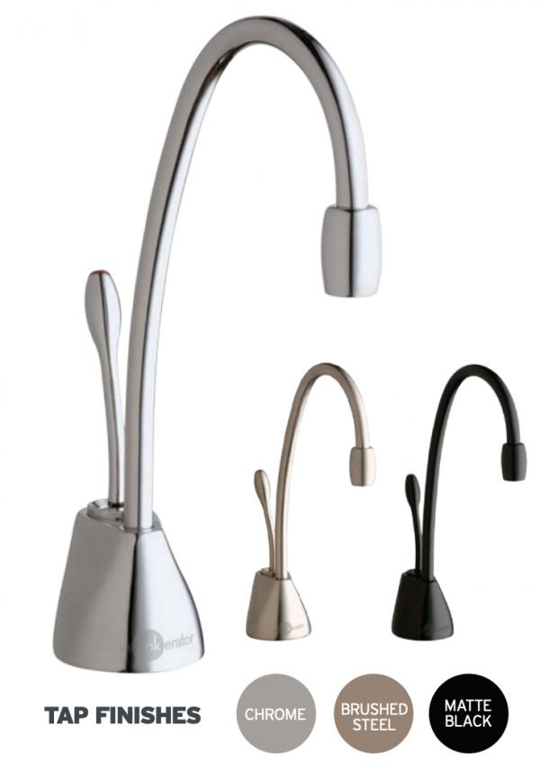 InSinkErator GN1100 hot tap options
