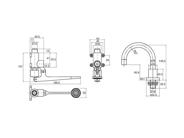 Wolfen foot-operated tap drawing
