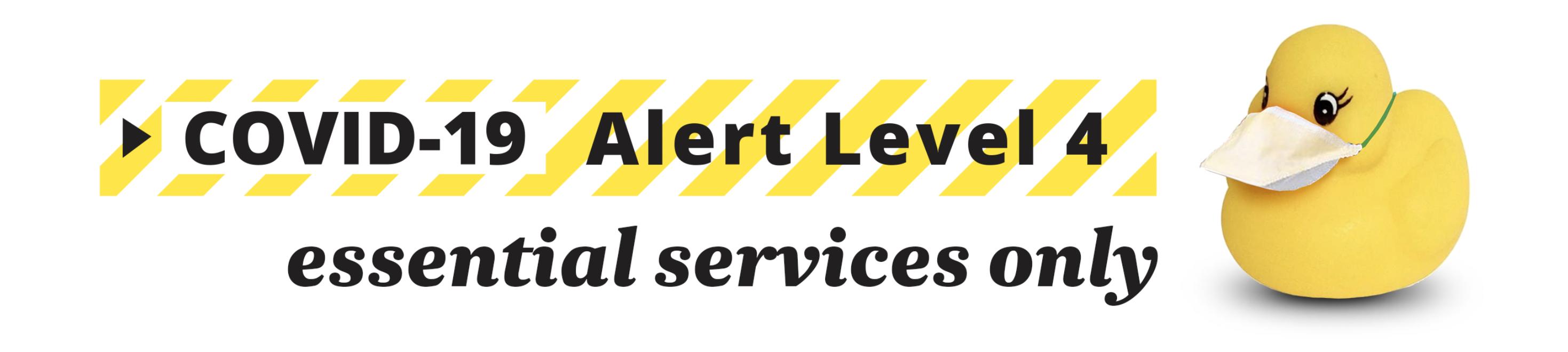 Alert Level 4 header